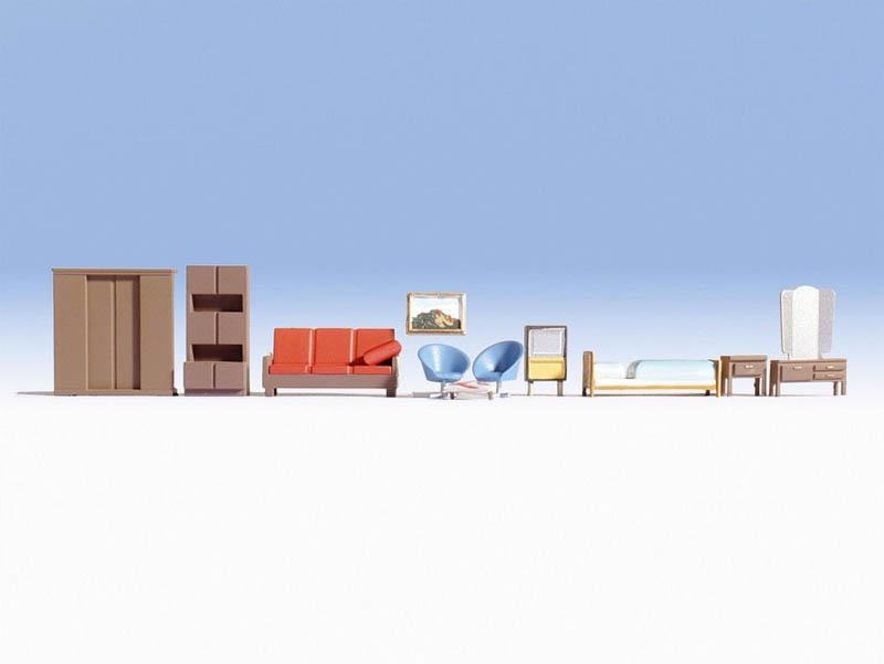 Möbel Zubehör-Set Spur H0