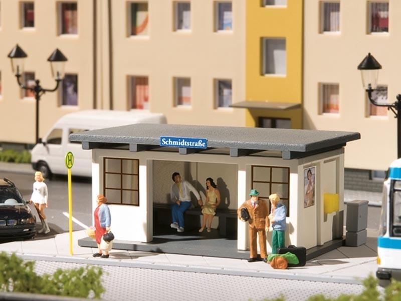 Buswartehäuschen, Bausatz, Spur H0