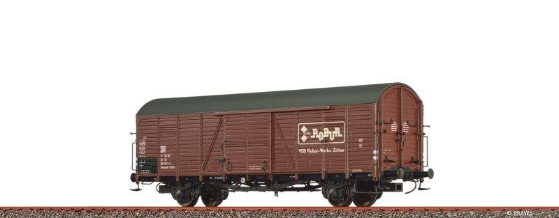 Gedeckter Güterwagen Glthsu Robur der DR, DC, Spur H0