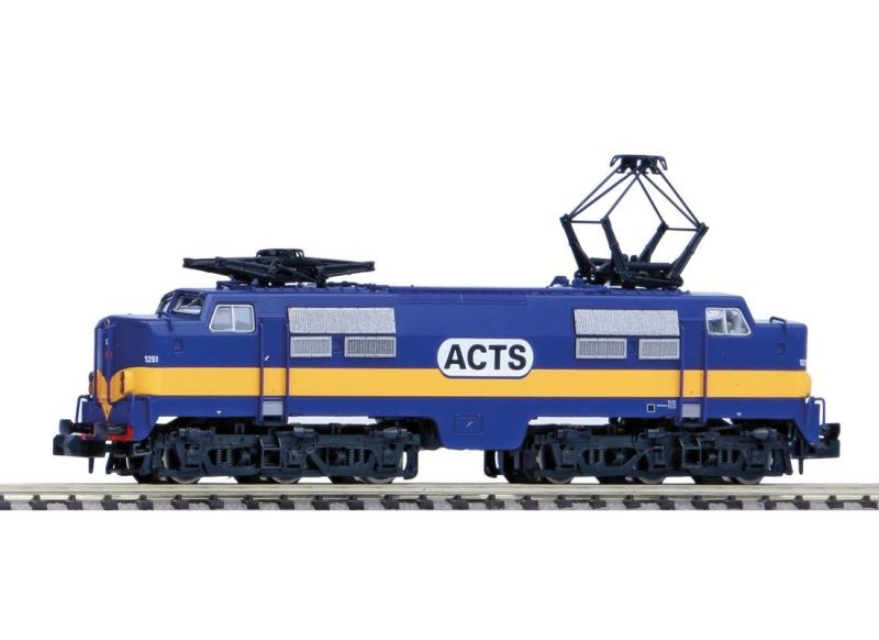 E-Lok Rh 1200 der ACTS, blau, Epoche V, Spur N