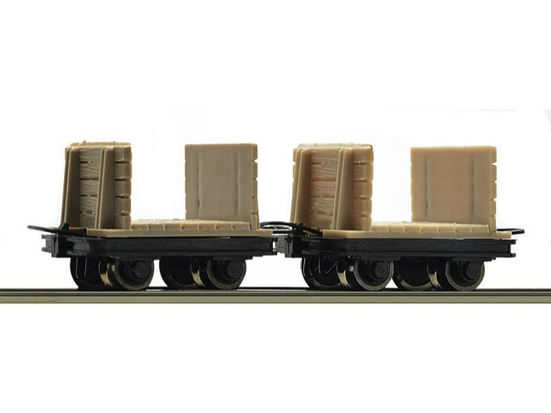 Güterwagen-Set Grubenloren 2-tlg. H0e