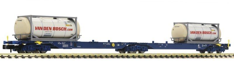 Container-Doppeltragwagen Bauart Sggmrs der ERR, Spur N
