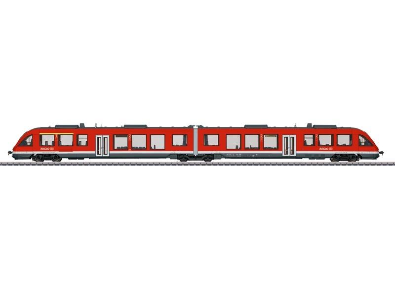 Nahverkehrs-Triebwagen LINT 41 DB AG, Sound, mfx+ DCC AC, H0