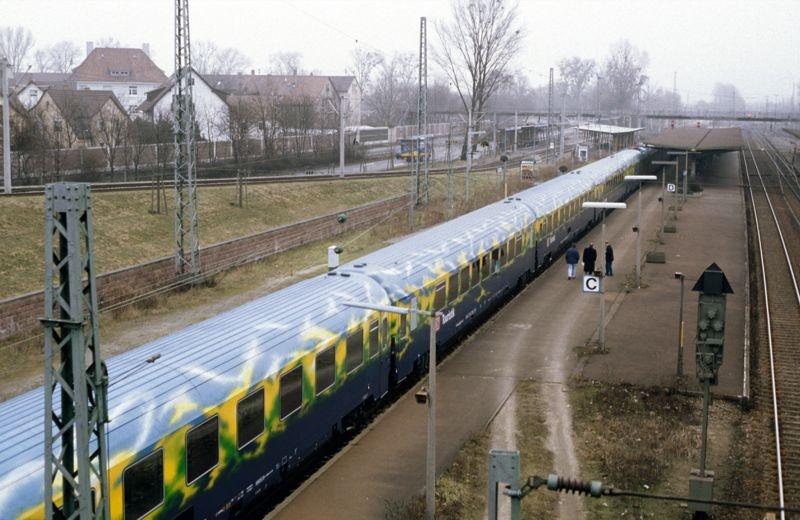 Personenwagen-Set Touristikzug der DB AG, Spur Z