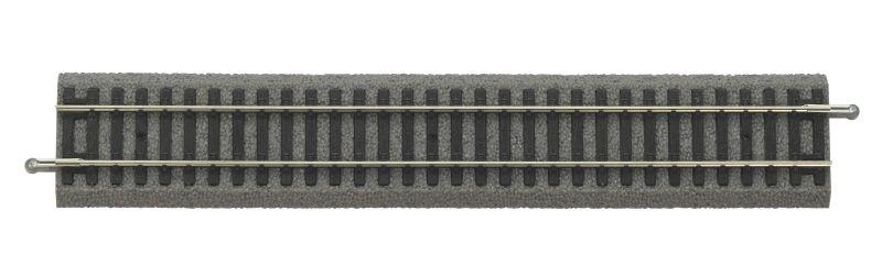 A-Gleis mit Bettung Gerade G239, Spur H0