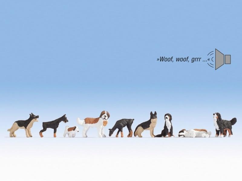 Hunde mit Sound, H0