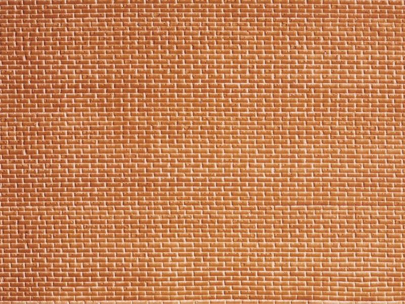 Ziegelstein, 28 x 10 cm Spur H0