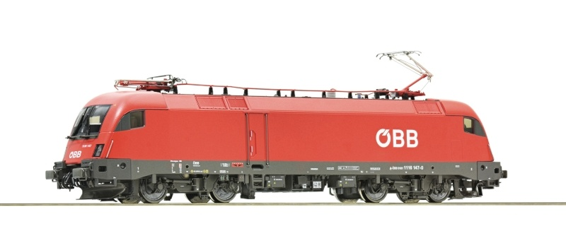 Elektrolokomotive Rh 1116 der ÖBB, AC, Sound, Spur H0