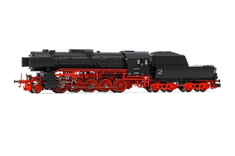 Dampflokomotive Baureihe 42 der DR, DC, Spur N