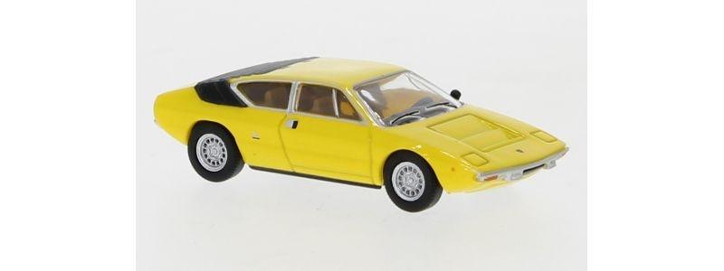 Lamborghini Urraco, gelb, 1973, 1:87 / H0