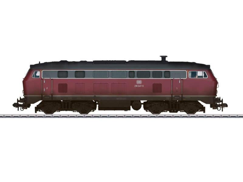 Diesellokomotive BR 218 DB Sound mfx Spur 1