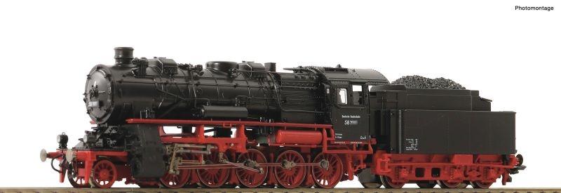 Jubiläumsmodell Dampflok BR 58 der DB, DC, Spur H0
