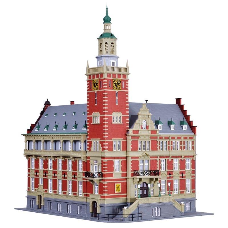 Rathaus Leer, Bausatz, Spur H0