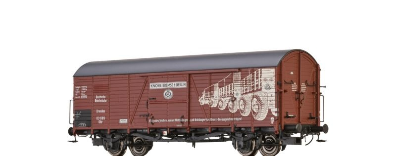 Gedeckter Güterwagen GLTR Knorr der DRG, Ep.II, Spur H0