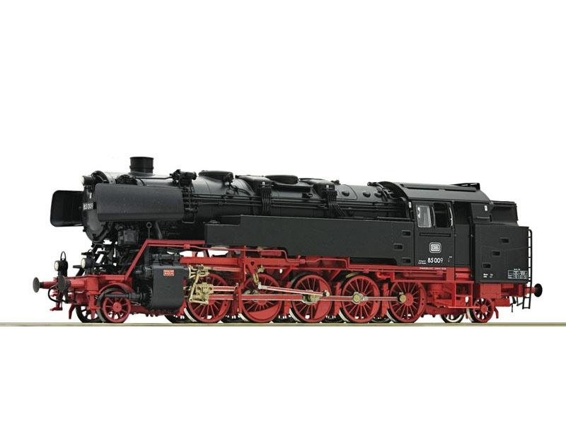 Dampflok 85 009 der DB, Sound+Dampf, DC, Spur H0