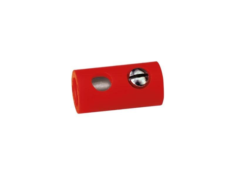 Muffen, rot, 1,6 mm [10 Stück]