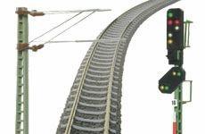 Gleise, Oberleitung und Signale