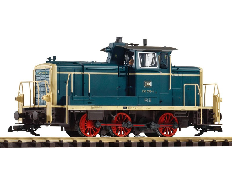 Diesellok BR 260 der DB, Ep. IV, Spur G