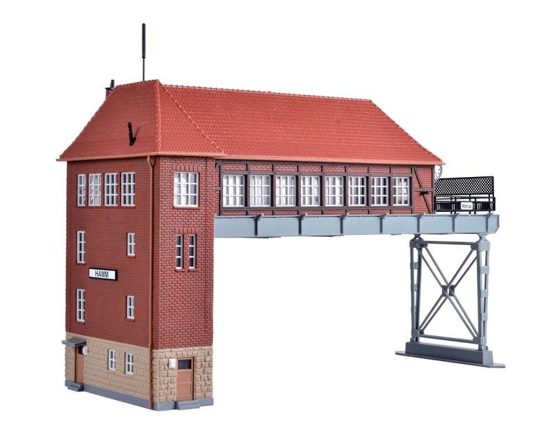 Brückenstellwerk Hamm, Bausatz, Spur H0