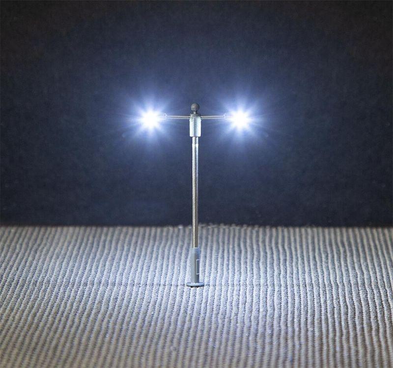 LED-Straßenbeleuchtungen, Ansatzleuchten, 3 Stück, Spur N