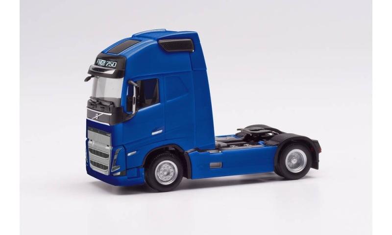 Volvo FH 16 Gl. XL 2020 exklusiv Zugmaschine,blau, 1:87 / H0