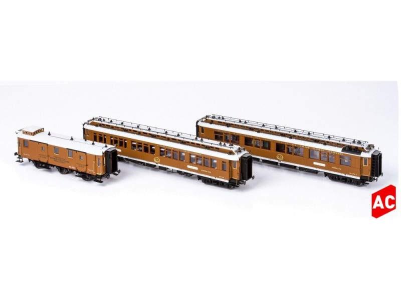CIWL Wien-Nizza-Cannes Express Set1,3-tlg. Ep.I, AC, Spur H0