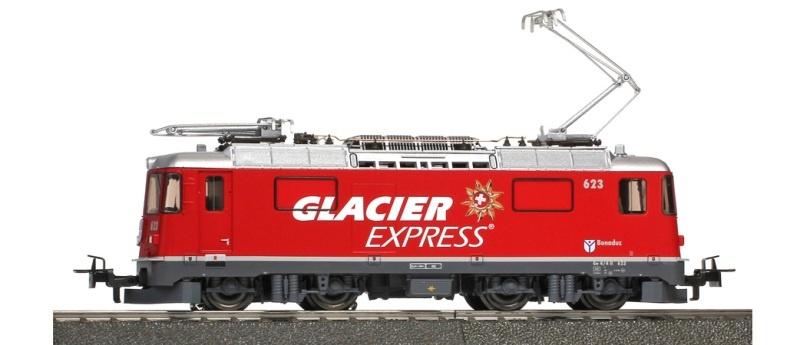 RhB Ge 4/4 II 623 Glacier-Express, digital, Sound, DC, H0