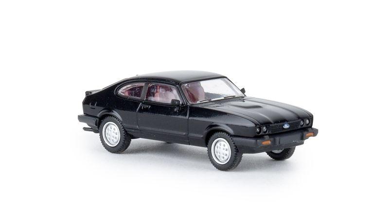 Ford Capri III, schwarz, TD, Spur H0