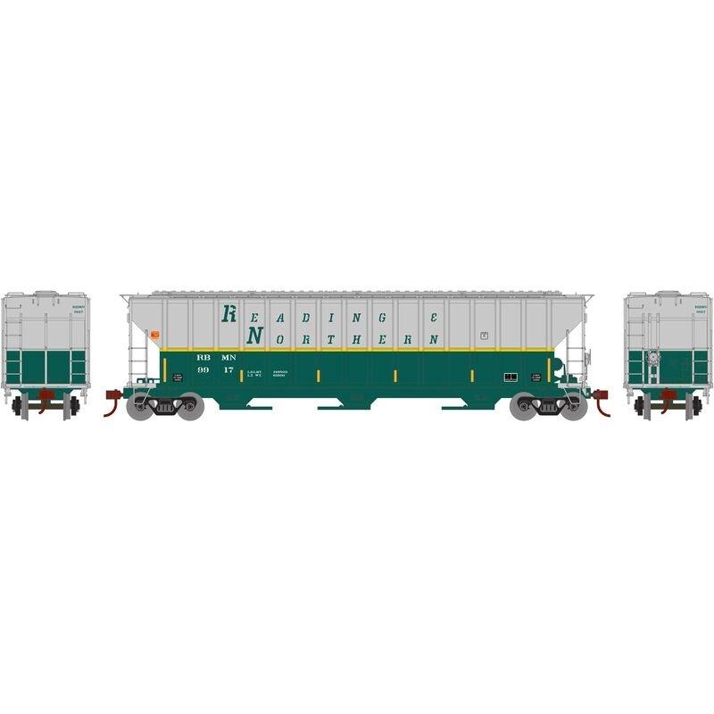 Gedeckter Güterwagen FMC 4700 #9917 der RBM&N, DC, H0