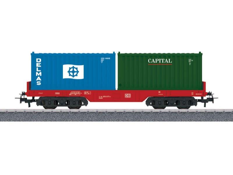 Start up - Containertragwagen DB AG H0
