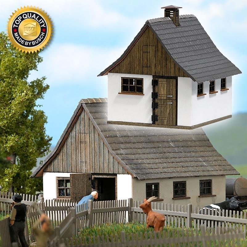 Bockstall Bausatz, Spur H0