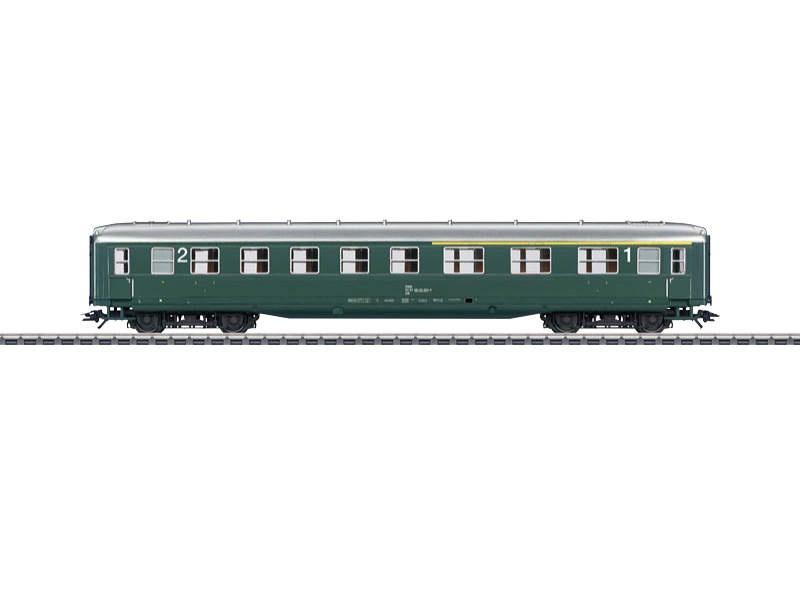 Schürzenwagen C4ü-38 1./2.Klasse ÖBB H0
