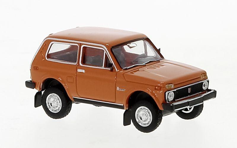 Lada Niva, orange, 1976, 1:87 / H0