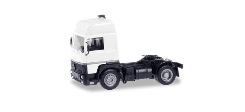 MiniKit: Renault R 390 Zugmaschine, weiß 1:87 / H0