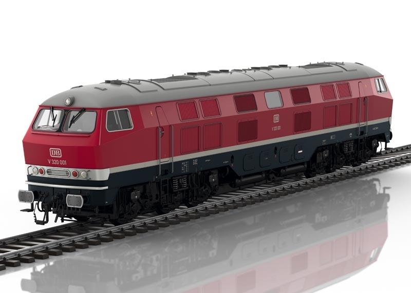 Diesellokomotive V320 001 der DB, Sound, mfx, DCC, Spur 1
