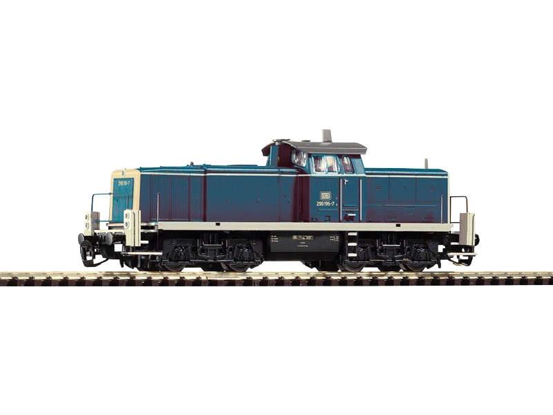 Diesellok BR 290 oceanblau/beige der DB, Epoche IV, Spur TT