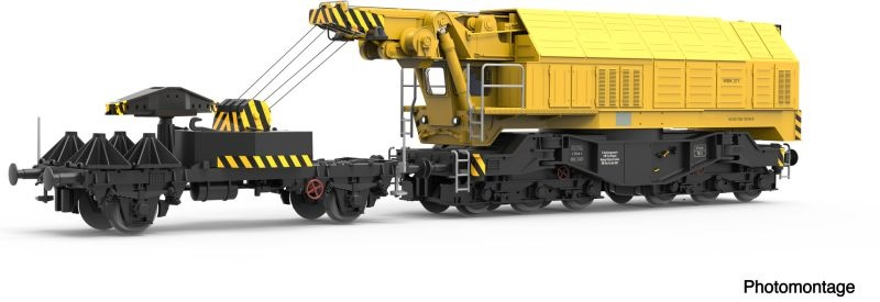 Digital-Eisenbahndrehkran 750 der DB, Sound, AC, Spur H0