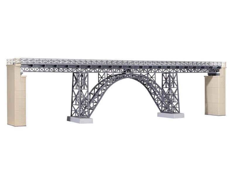 Stahlträger-Viadukt Müngstertal,eingleisig, Bausatz, Spur H0