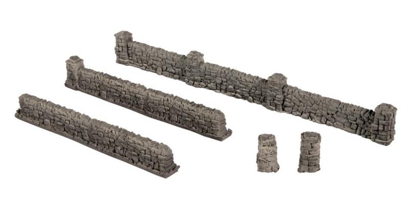 Mauern aus Granit, Spur H0