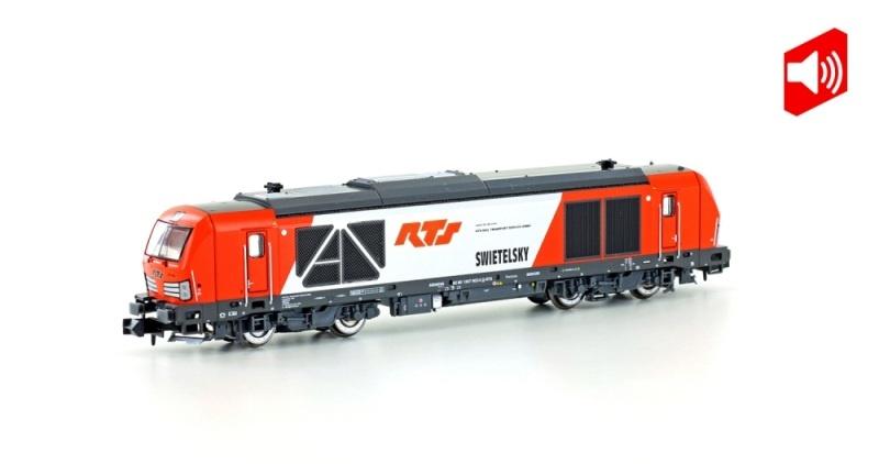 Diesellok BR 247 902 Vectron DE RTS, Ep.VI, Sound, Spur N