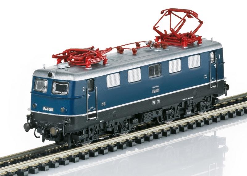 Elektrolokomotive Baureihe E 41, Sound, Minitrix Spur N, MHI