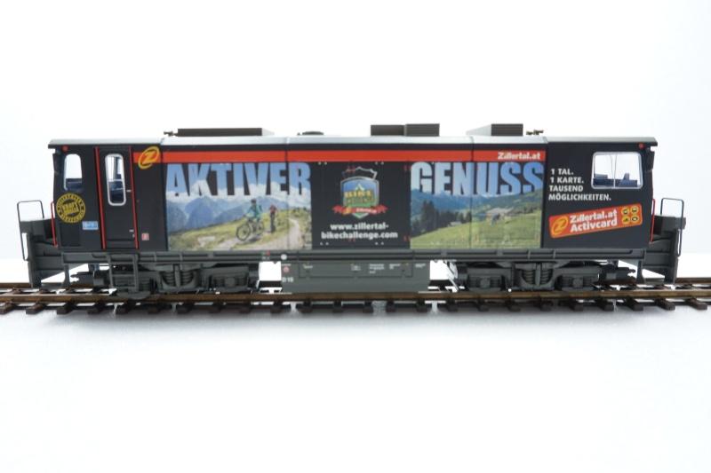 Diesellokomotive D15 Black Beauty der Zillertalbahn Spur H0e