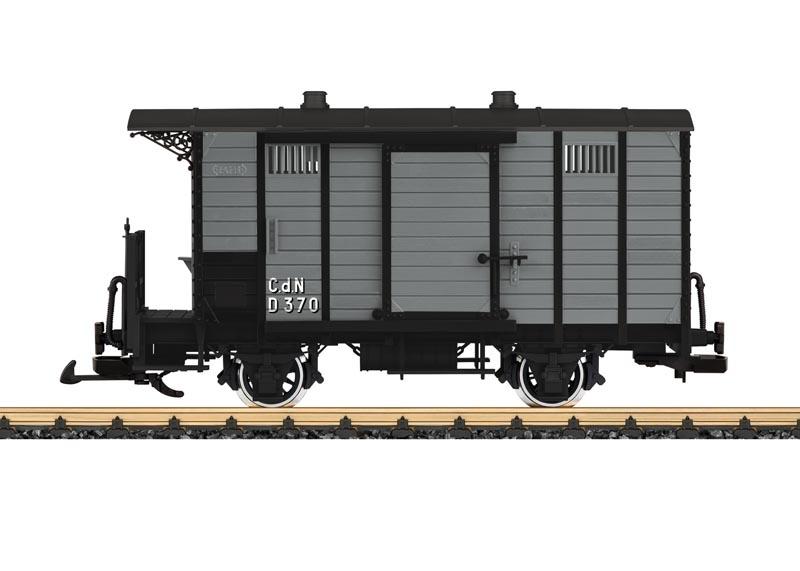 Gedeckter Güterwagen CdN D 370 TIV, Spur G