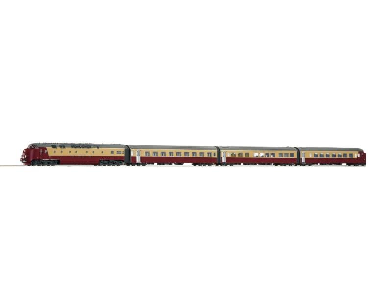 TEE-Dieseltriebzug DE IV der NS, Sound, AC, Spur H0