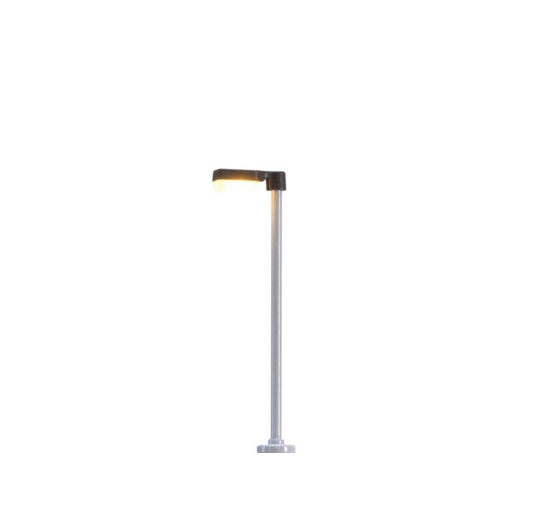 LED-Aufsatzleuchte mit Stecksockel, kantig, Spur N