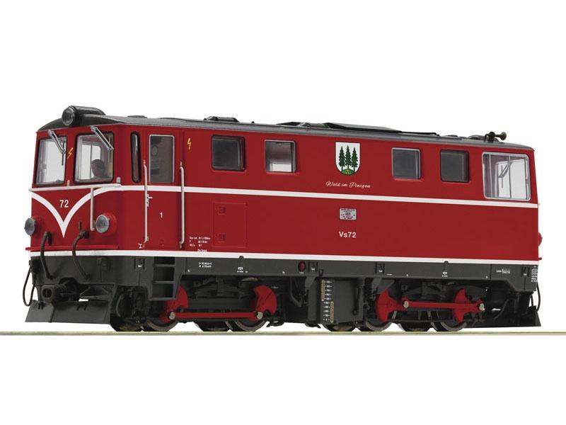 Diesellokomotive Vs 72 der PLB, Spur H0e