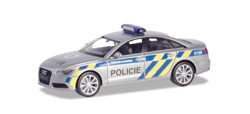 Audi A6 Limousine Polizei Prag, 1:87 / H0