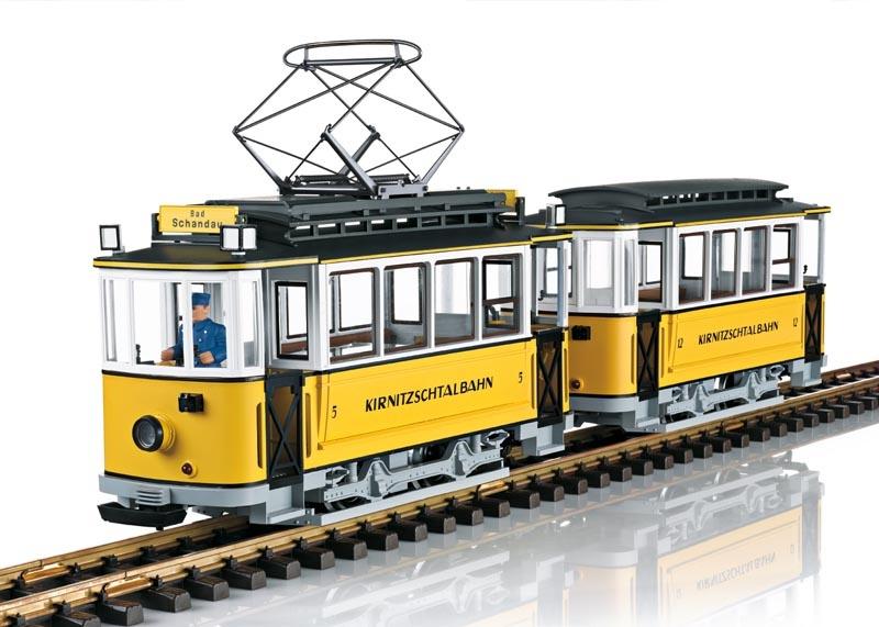 Kirnitzschtalbahn, Sound, mfx, DCC, Spur G