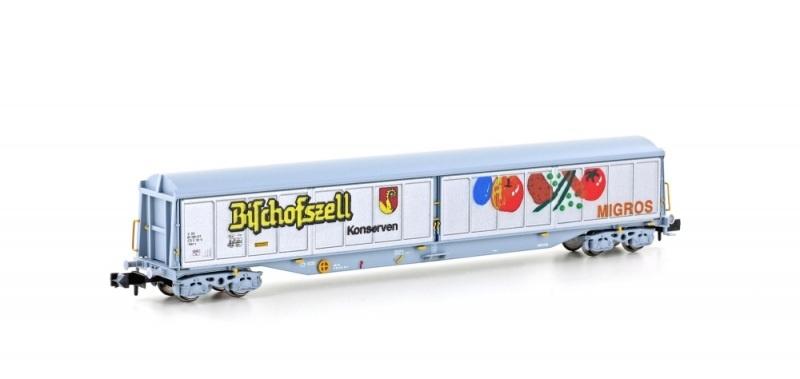 Schiebewandwagen Habils SBB / Bischofszell, Ep.V, Spur N