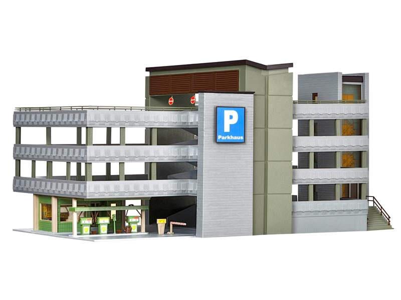 Parkhaus, Bausatz, Spur H0